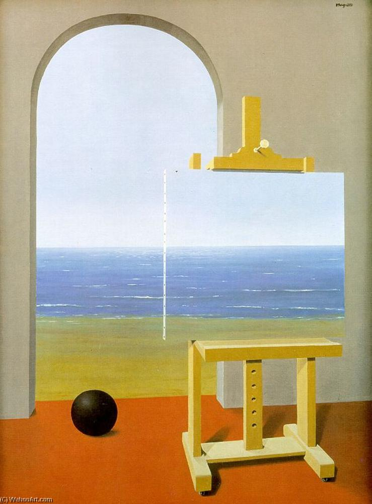 | la condición humana de Rene Magritte | Most-Famous-Paintings.com