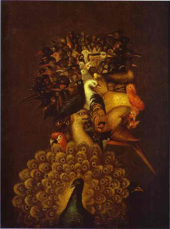 famous painting hinchable of Giuseppe Arcimboldo