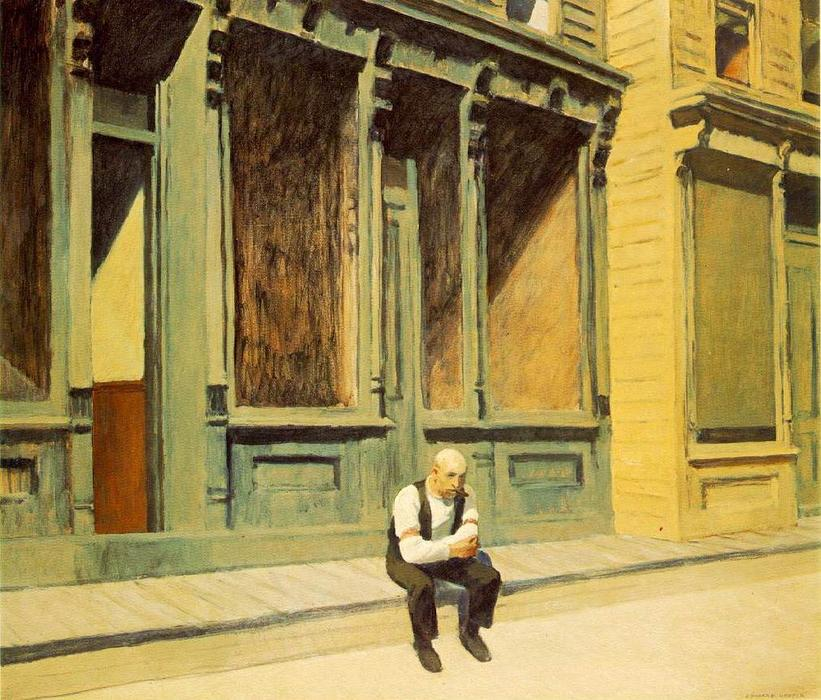famous painting domingo of Edward Hopper