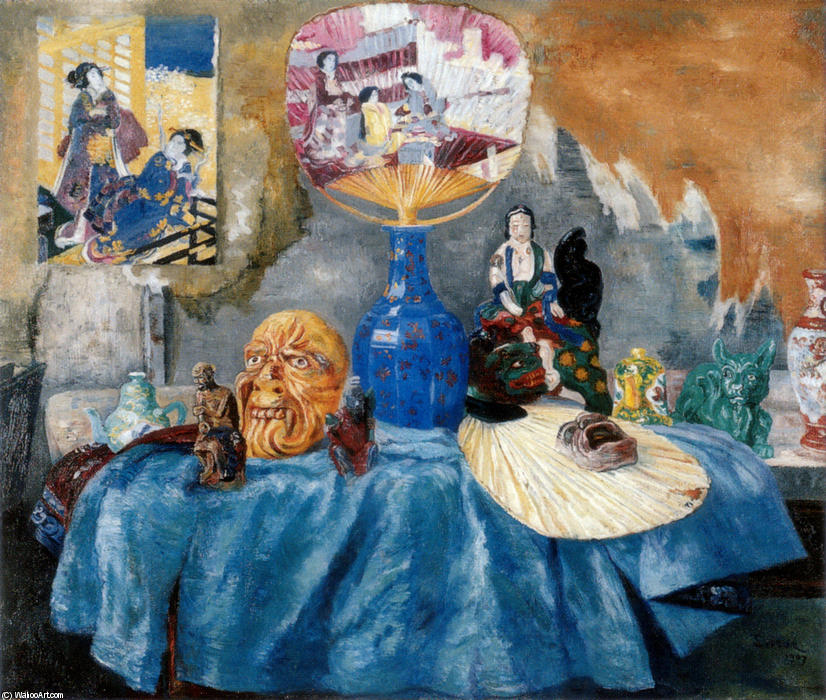 famous painting Chinoiseries of James Ensor