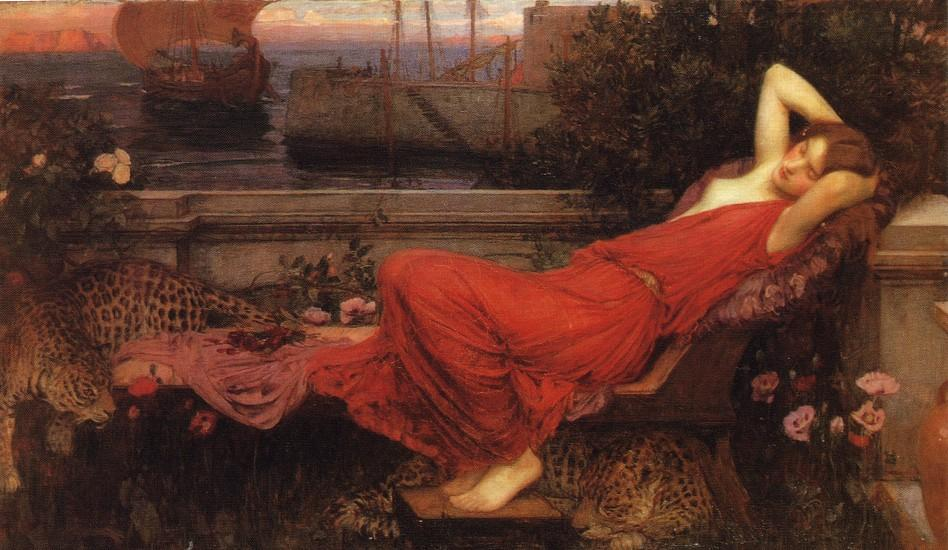 Pedir Reproducciones De Arte | Ariana de John William Waterhouse | Most-Famous-Paintings.com
