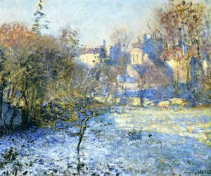 Claude Monet - Escarcha