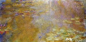 Claude Monet - El Water-Lily Estanque 6