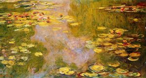 Claude Monet - El Water-Lily Estanque 9