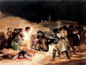 Francisco De Goya - 3rd Poder 1808 en madrid