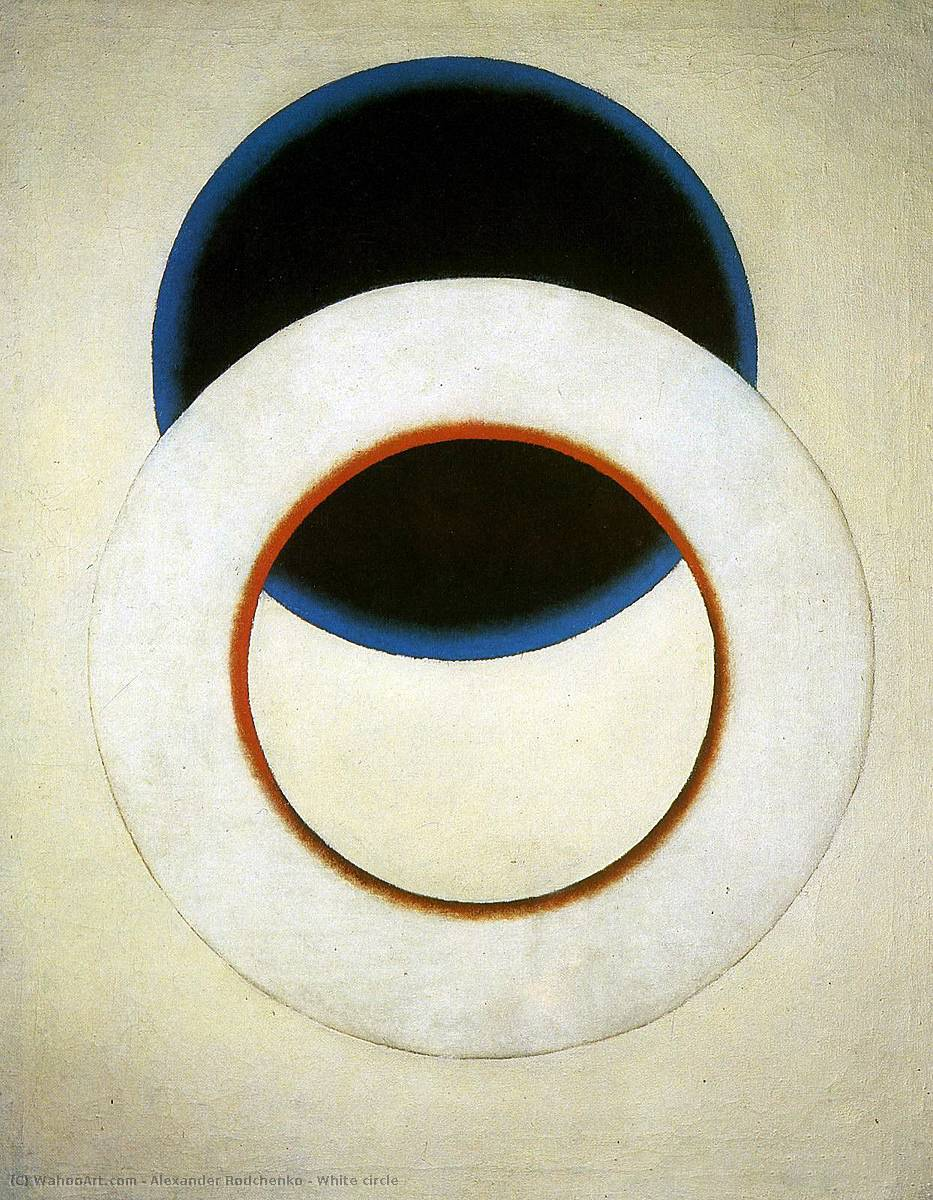 famous painting blanco círculo of Alexander Rodchenko