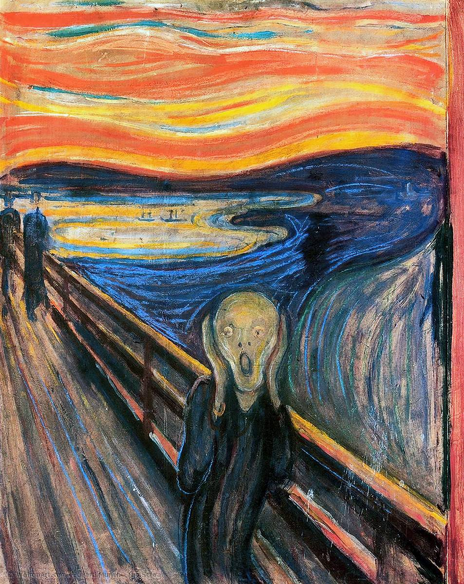 Pedir Copia De La Pintura : El Grito de Edvard Munch | Most-Famous-Paintings.com