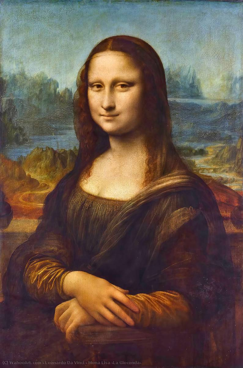 Pedir Reproducciones De Bellas Artes | mona lisa ( la gioconda ) de Leonardo Da Vinci | Most-Famous-Paintings.com