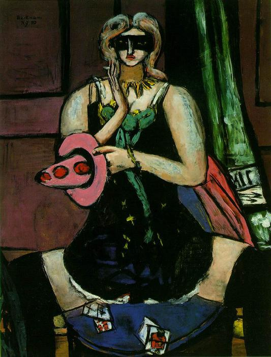 | Aguileña de Max Beckmann | Most-Famous-Paintings.com