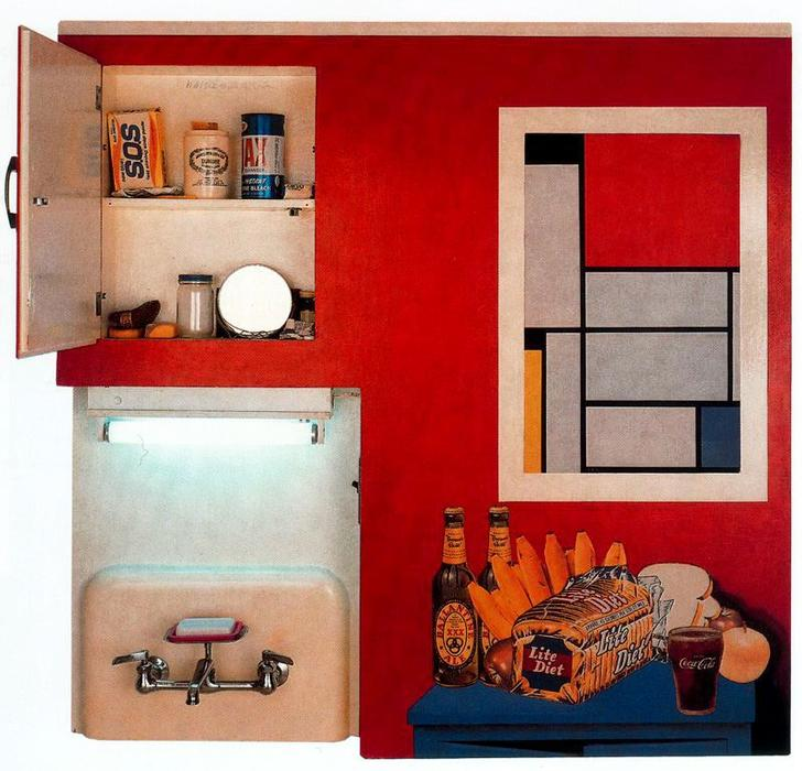 famous painting Bodegón no . 20 of Tom Wesselmann