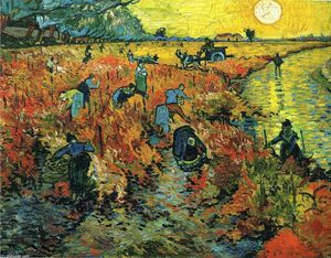 Vincent Van Gogh - Rojo Vineyards a Arles