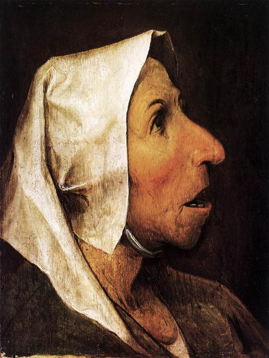 Pedir Reproducciones De Bellas Artes | retrato de una mujer mayor de Pieter Bruegel The Elder | Most-Famous-Paintings.com