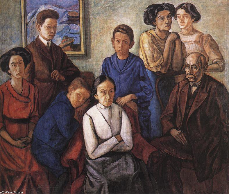 | el familia de Bertalan Por | Most-Famous-Paintings.com