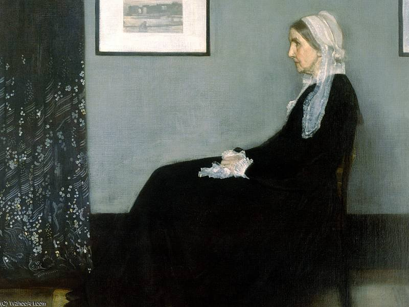 famous painting Madre of James Abbott Mcneill Whistler