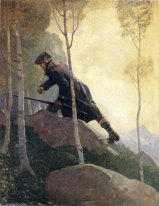 famous painting Sin título 8116   of Nc Wyeth