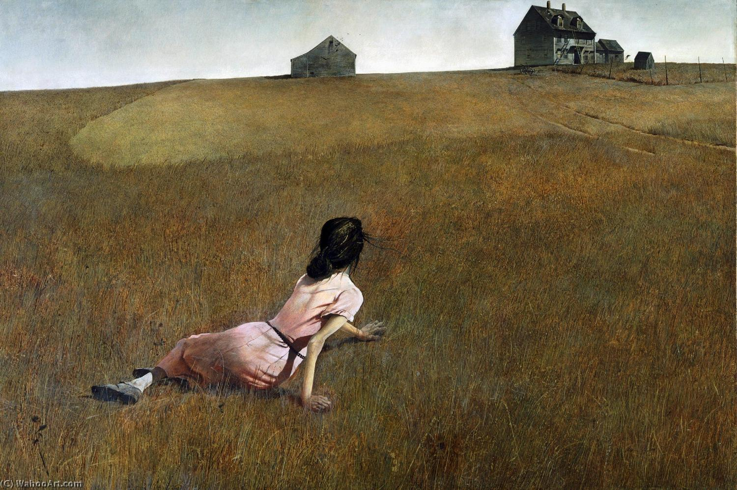 famous painting Christina's Mundo of Andrew Wyeth