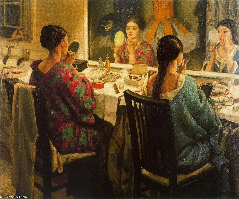 famous painting Sin título 520   of Dame Laura Knight
