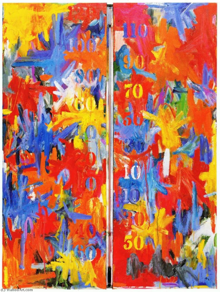 famous painting Salida nula of Jasper Johns