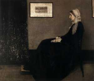 James Abbott Mcneill Whistler - la madre del artista