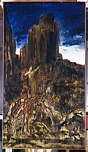 famous painting Tyrtée of Gustave Moreau